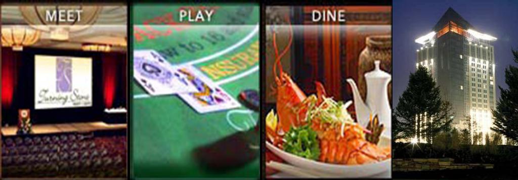 Turning Stone Meet Play Dine